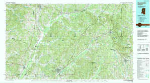 Kosciusko topographical map