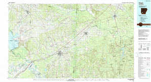 Hope topographical map