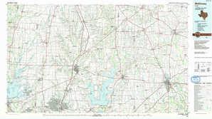 Mc Kinney topographical map