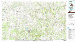 Graham topographical map