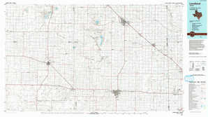 Levelland topographical map