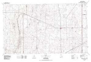 Tatum topographical map