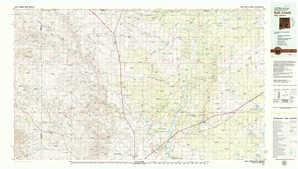Salt Creek topographical map