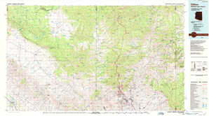 Clifton 1:250,000 scale USGS topographic map 33109a1