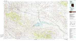 Globe 1:250,000 scale USGS topographic map 33110a1