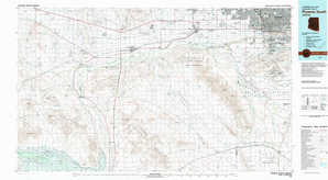 Phoenix South topographical map