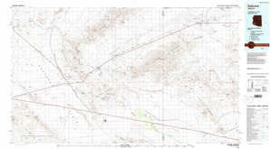 Salome topographical map