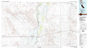 Blythe topographical map