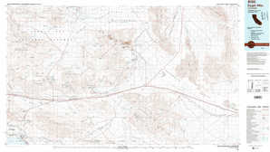Eagle Mountains topographical map
