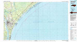 Wilmington topographical map