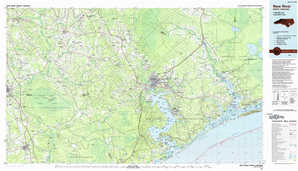 New River topographical map