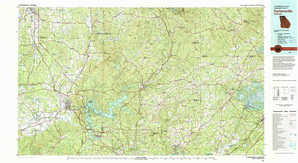 Cartersville topographical map