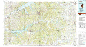 Oxford topographical map