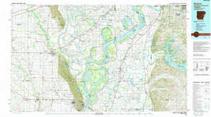 Helena topographical map