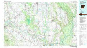 De Witt topographical map