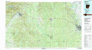 Malvern topographical map