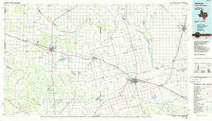 Vernon topographical map