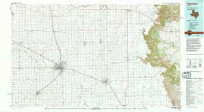 Plainview topographical map