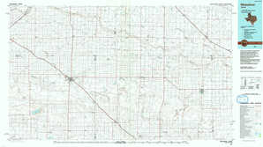 Muleshoe topographical map