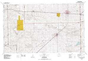 Clovis topographical map