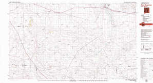 Fort Sumner topographical map