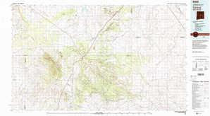 Corona topographical map