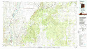 Socorro topographical map