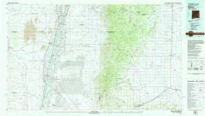 Belen topographical map