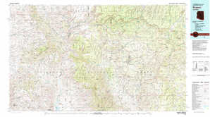 Payson topographical map