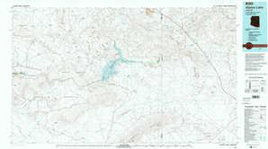 Alamo Lake topographical map