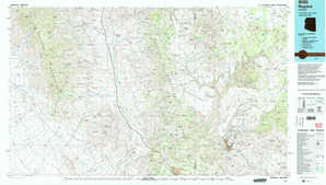 Bagdad topographical map