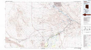 Parker topographical map