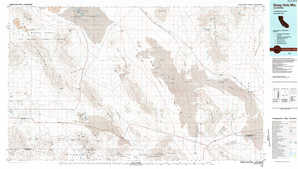Sheep Hole Mountains topographical map