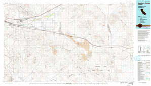 Newberry Springs 1:250,000 scale USGS topographic map 34116e1