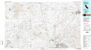 Victorville topographical map