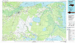 Plymouth topographical map