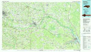 Kinston topographical map