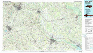 Rocky Mount topographical map