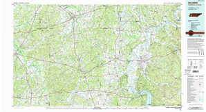 Selmer topographical map