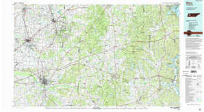 Milan 1:250,000 scale USGS topographic map 35088e1
