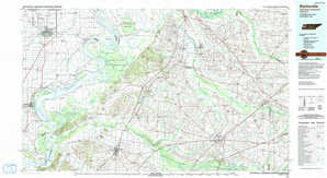 Blytheville 1:250,000 scale USGS topographic map 35089e1