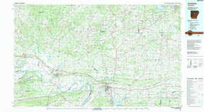 Conway topographical map