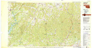 Stilwell topographical map