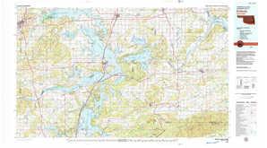 Eufaula topographical map