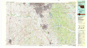 Oklahoma City South topographical map