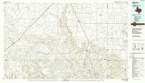Hartley topographical map