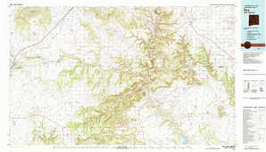 Roy topographical map