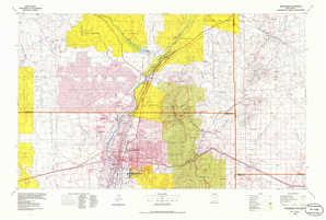 Albuquerque topographical map