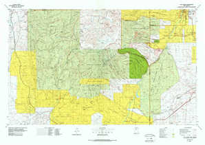 Los Alamos topographical map