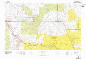 Grants topographical map